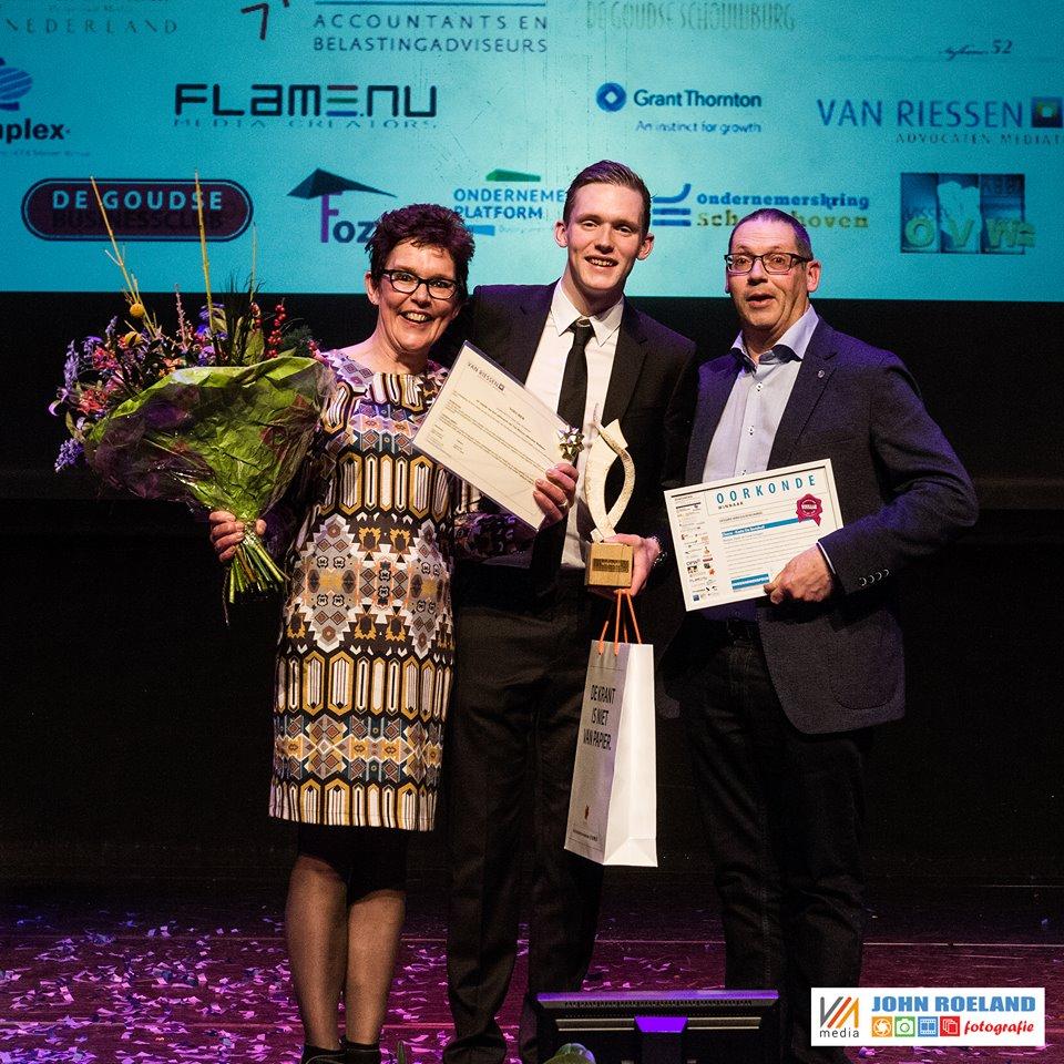 De Berekuil wint Ondernemersprijs Midden Holland 2016