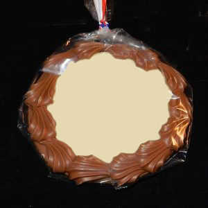 Een medaille met eigen foto of ontwerp